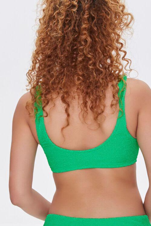 Textured Scoop Neck Bikini Top, image 3