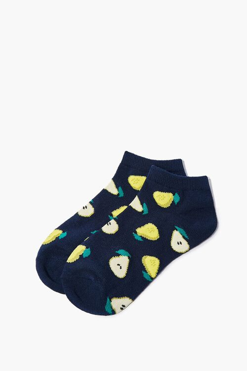 Pear Graphic Ankle Socks, image 2