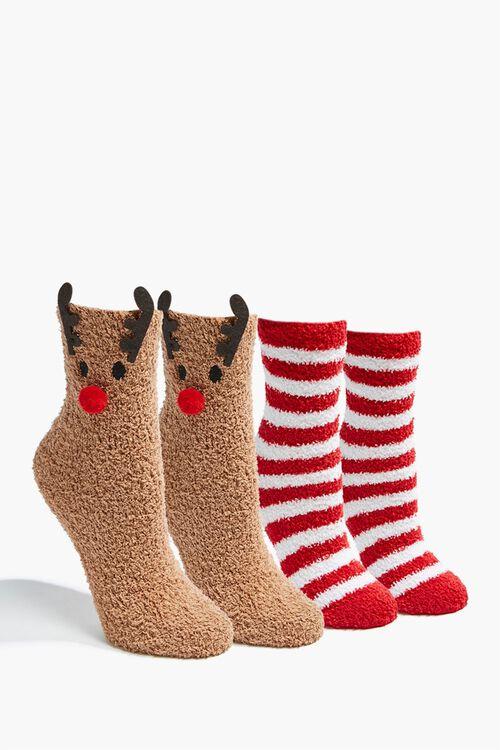 Reindeer Crew Socks Set, image 1