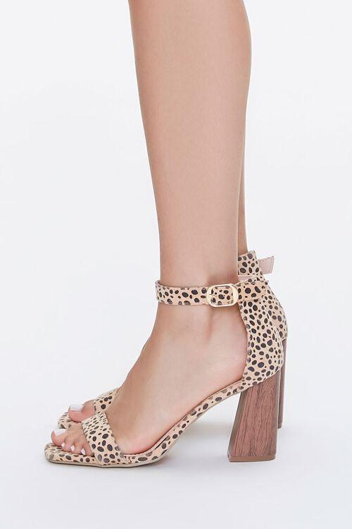Cheetah Print Block Heels, image 2