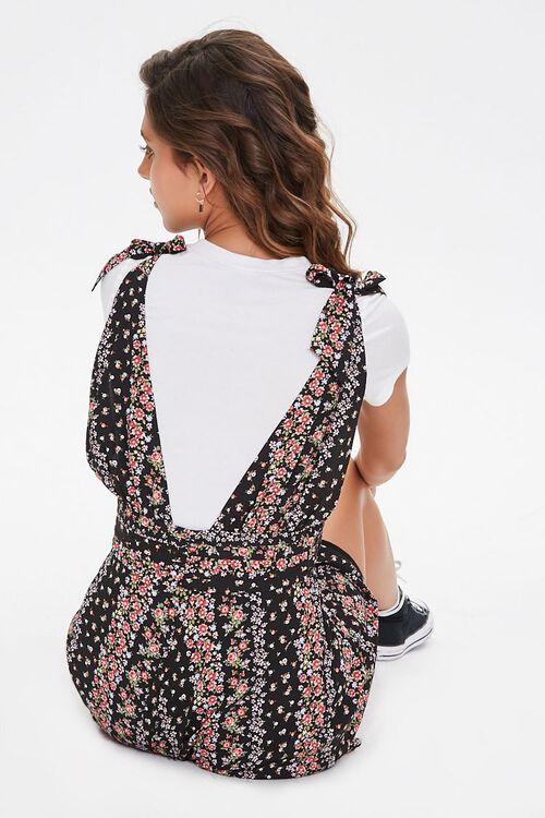 Floral Plunging Self-Tie Dress, image 3