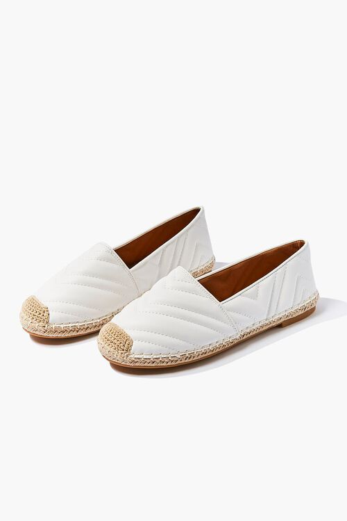 Quilted Espadrille Flats, image 3