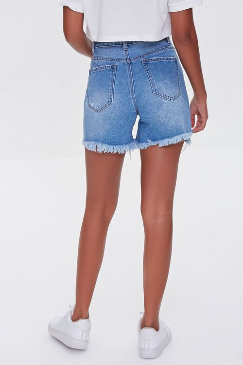 Distressed Denim Mom Shorts, image 4