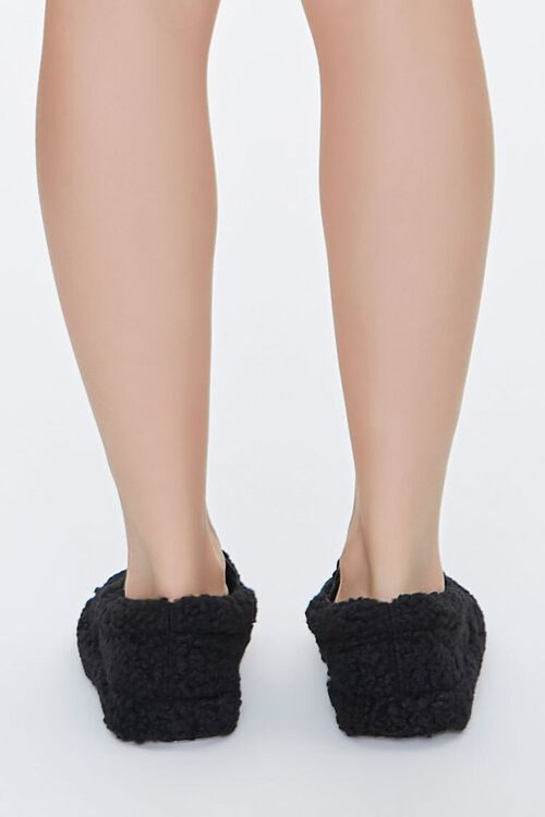 Faux Shearling Slip-On Sneakers, image 3