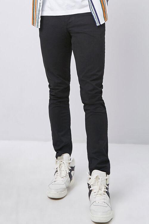 Twill Slim-Fit Pants, image 2