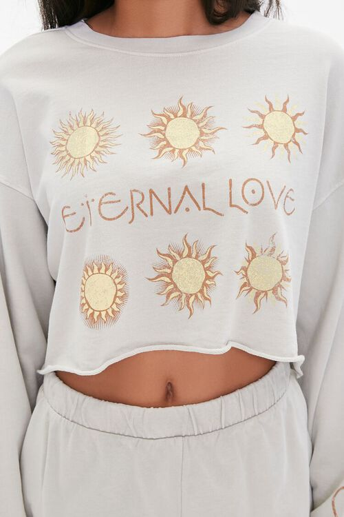 Celestial Graphic Pullover & Shorts Set, image 6