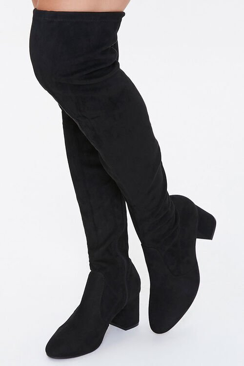 Over-the-Knee Sock Boots, image 1