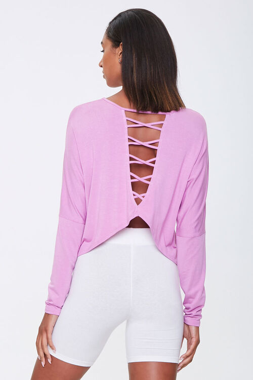 Active Caged-Back Top, image 3