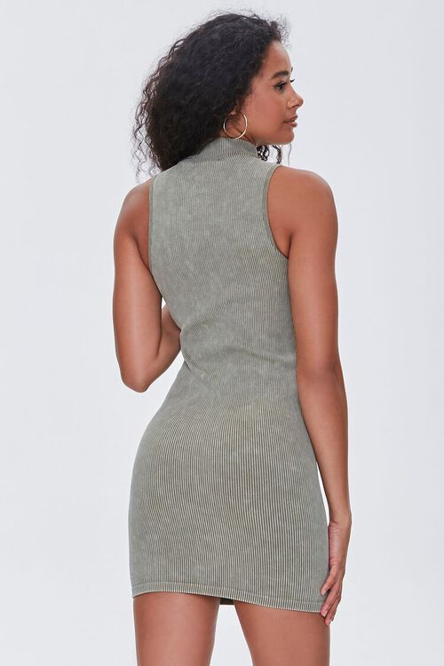 OLIVE Seamless Ribbed Bodycon Tank Dress, image 3