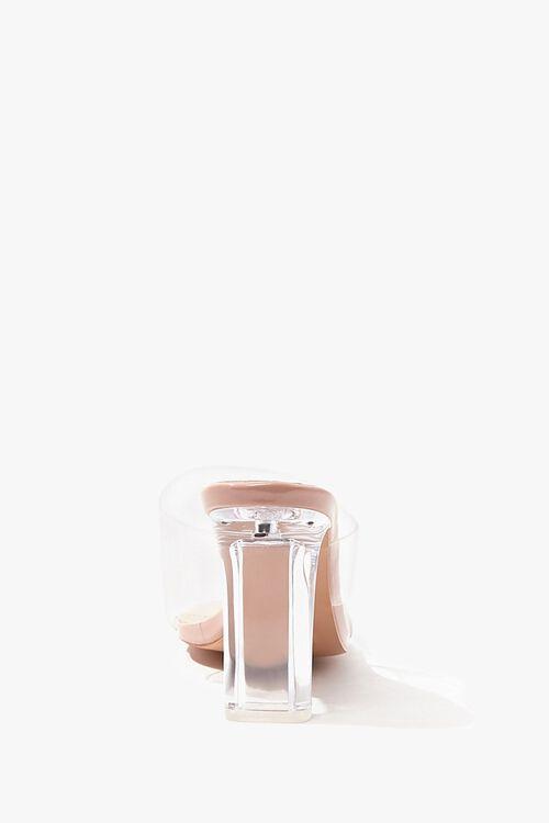 Square-Toe Lucite Block Heels, image 2