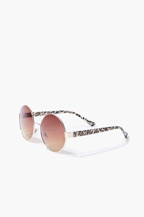 Round Metal Sunglasses, image 1