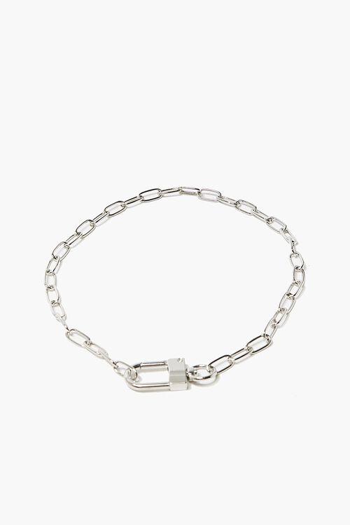 Lock Pendant Chain Necklace, image 2