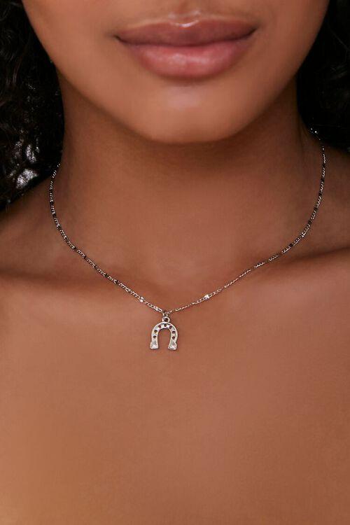 Horseshoe Pendant Necklace, image 1