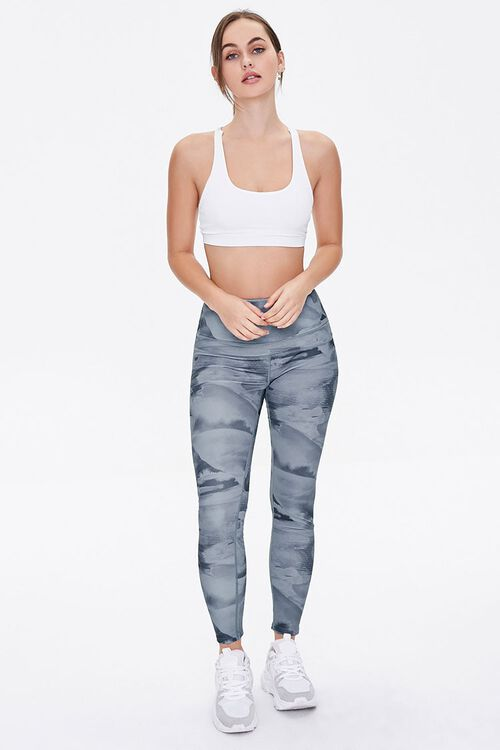 Active Abstract Print Leggings, image 5