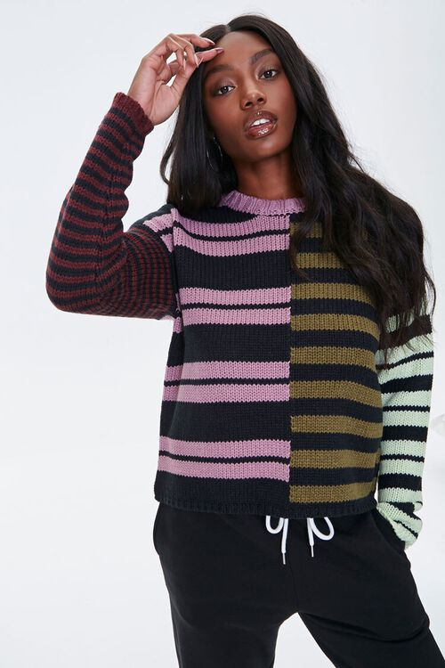 Reworked Striped Sweater, image 1