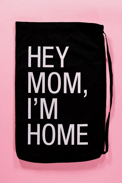 Hey Mom I'm Home Laundry Bag, image 1