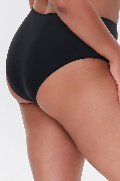 Plus Size High-Rise Bikini Bottoms, image 3
