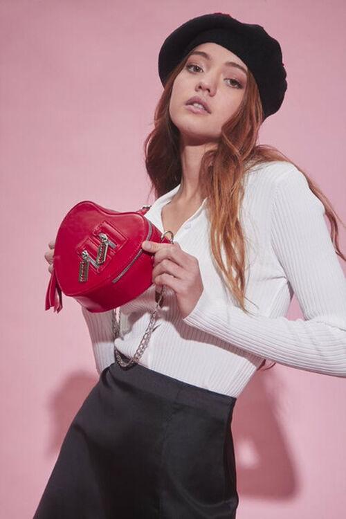Heart-Shaped Crossbody Bag, image 1