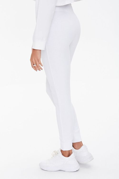 French Terry Lace-Up Joggers, image 3