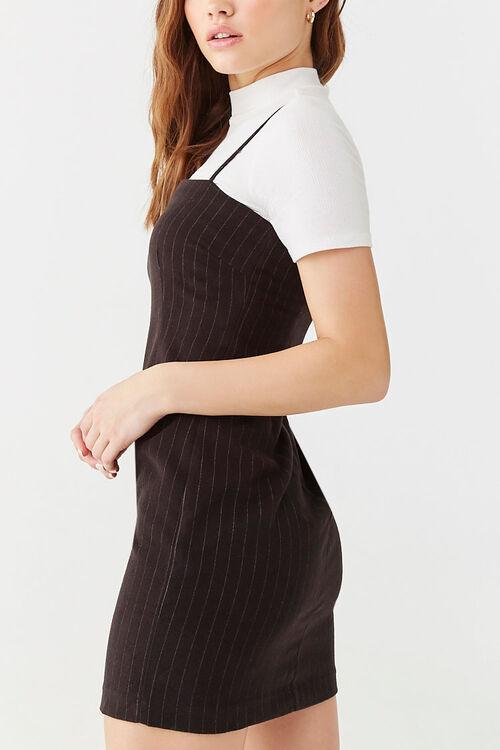 Pinstriped Mini Dress, image 2