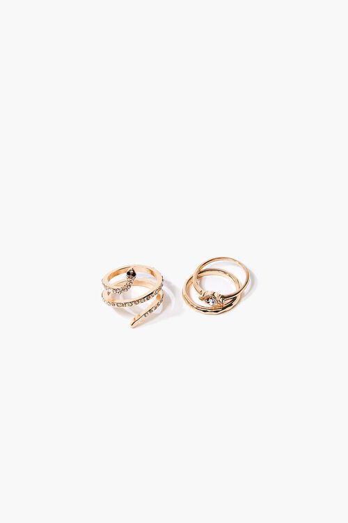 Snake Charm Ring Set, image 1
