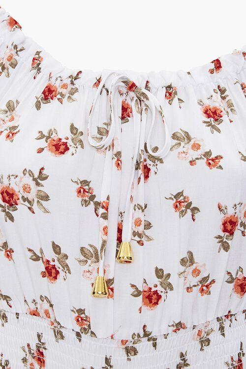 Floral Print Culotte Jumpsuit, image 3