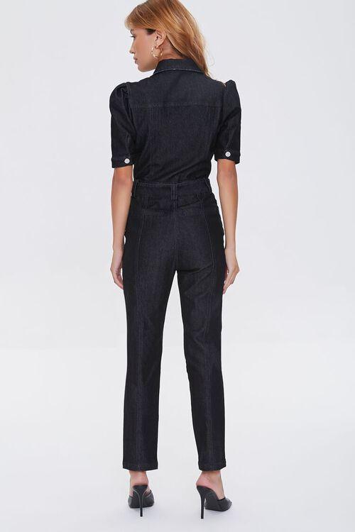 Denim Button-Up Jumpsuit, image 3