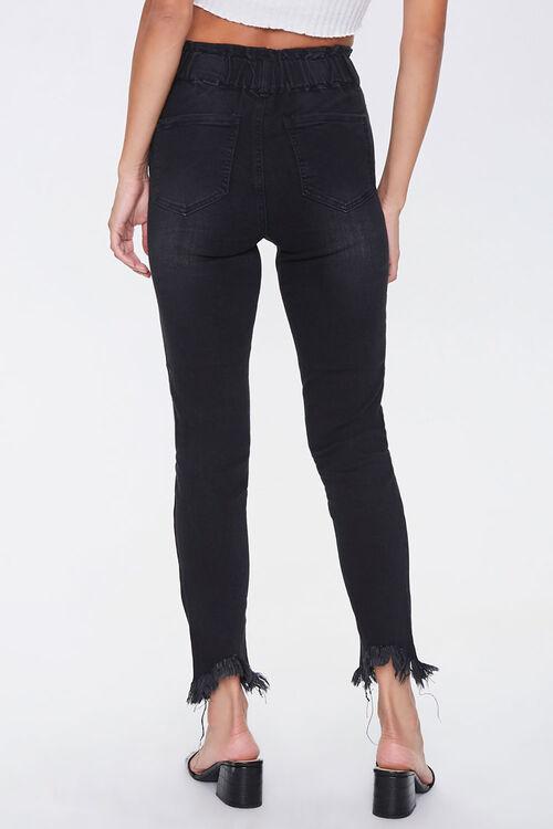 Frayed Ankle Skinny Jeans, image 4