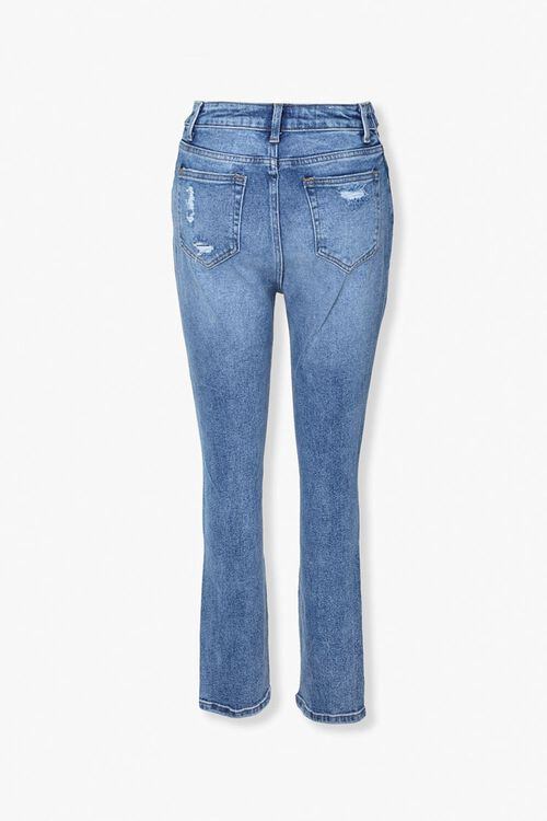 Distressed Foldover Jeans, image 3