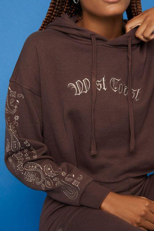 BROWN/MULTI Embroidered Hot Wheels Hoodie, image 5