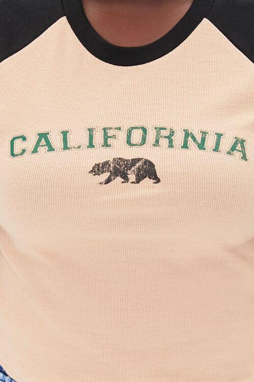 Plus Size California Raglan Tee, image 5