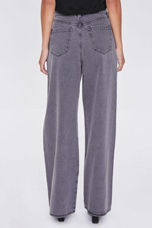Wide Leg Denim Pants, image 4