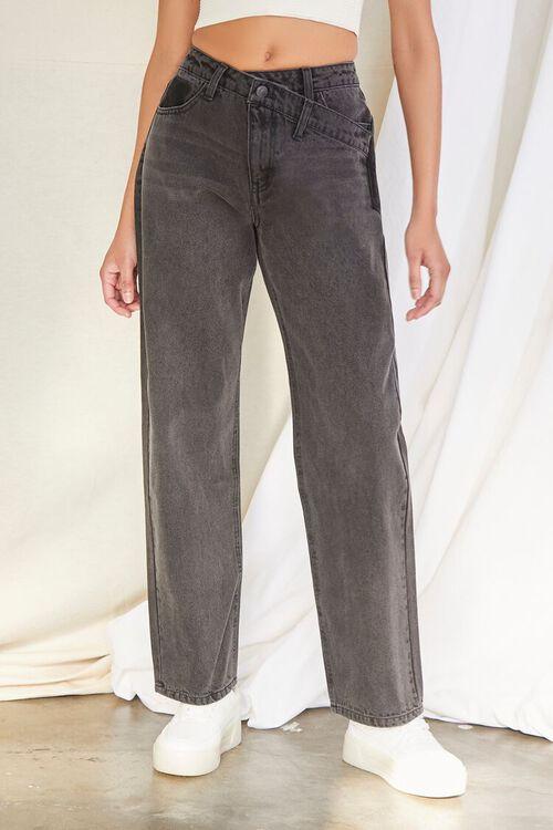 Crisscross Waist 90s Fit Jeans, image 2