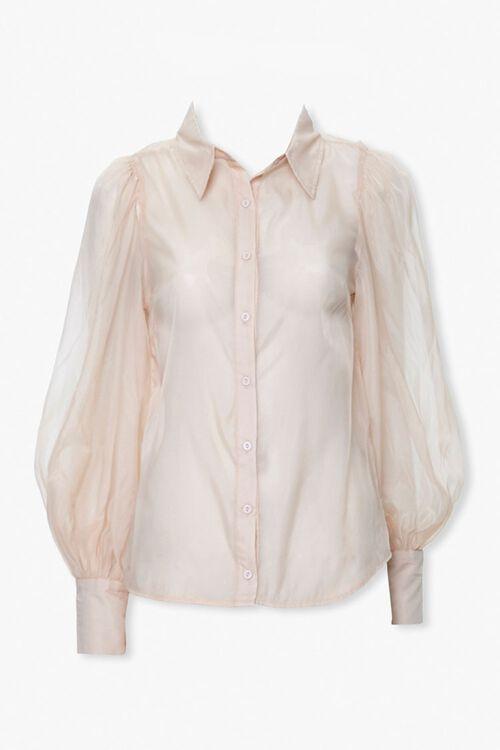 Sheer Mesh Shirt, image 1