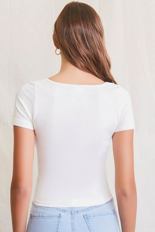 IVORY Seamless Checkered Top, image 3