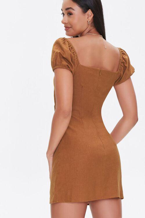 CHESTNUT Cutout Mini Dress, image 3