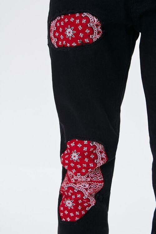 Bandana-Patch Skinny Jeans, image 6