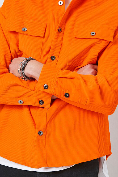 Corduroy Button-Down Jacket, image 6