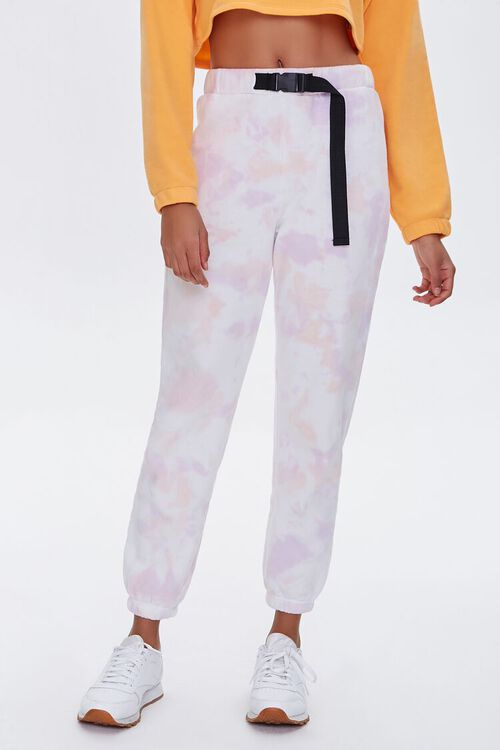 Buckled Tie-Dye Joggers, image 2