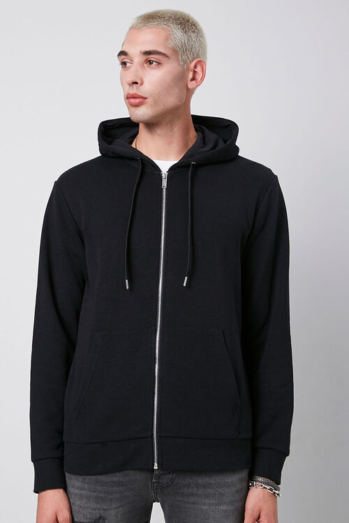 French Terry Zip-Up Hoodie, image 5
