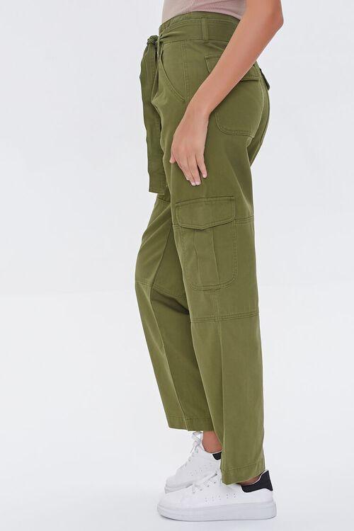 Tie-Belt Cargo Pants, image 3