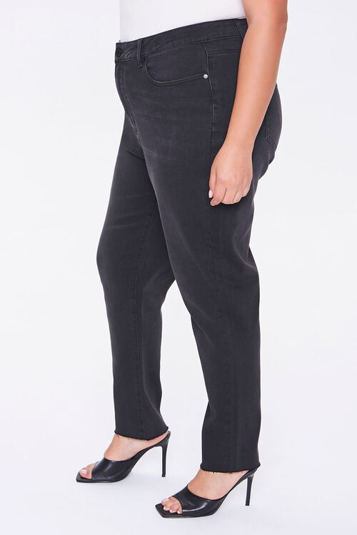 Plus Size High-Rise Mom Jeans, image 2