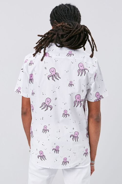 Octopus Print Pocket Shirt, image 3