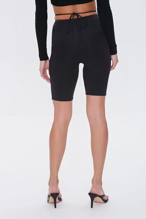 Crisscross Biker Shorts, image 4