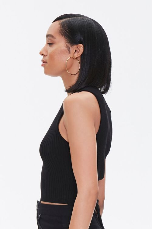 Ribbed Sweater-Knit Tank Top, image 2