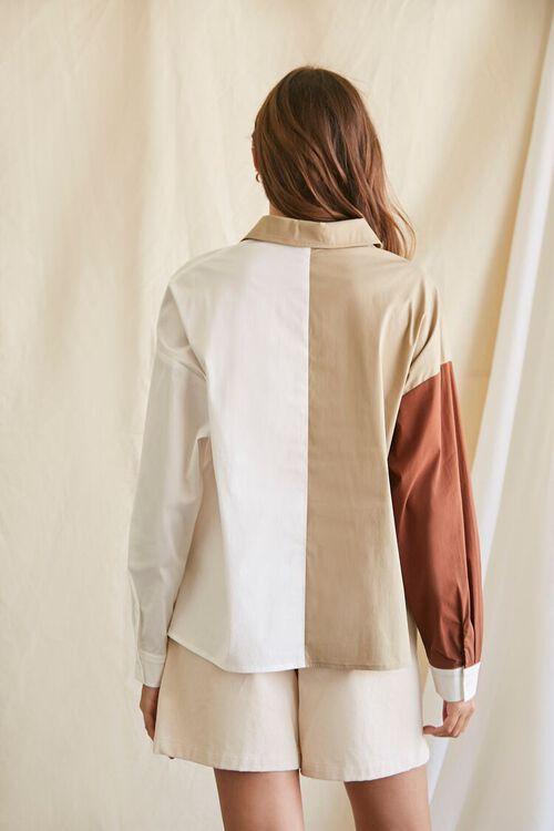 Colorblock Button-Up Shirt, image 3