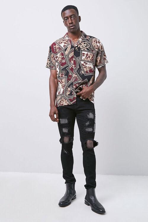 Classic Fit Paisley Shirt, image 4