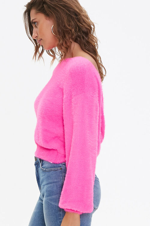 Plush Twist-Back Sweater, image 2