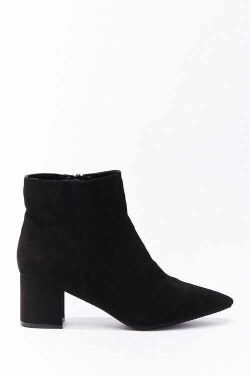 Faux Suede Booties, image 2