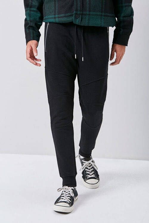 Zip-Pocket Drawstring Joggers, image 2